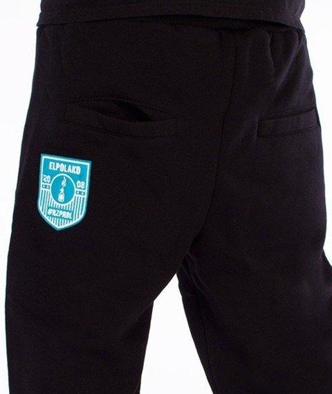 El Polako-RZPRDL Regular Spodnie Dresowe Czarne