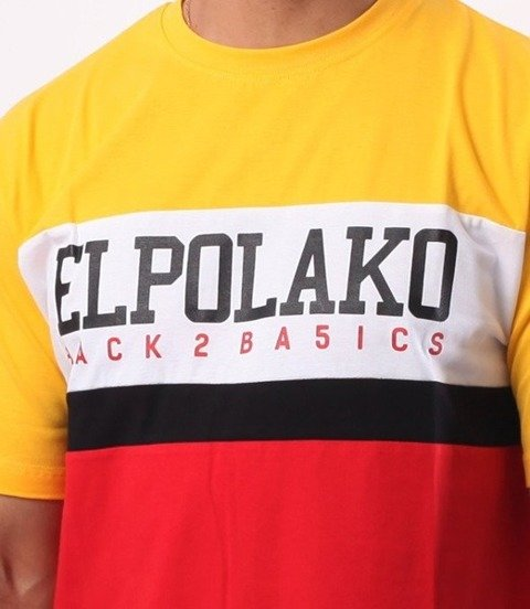 El Polako-School T-Shirt Żółty