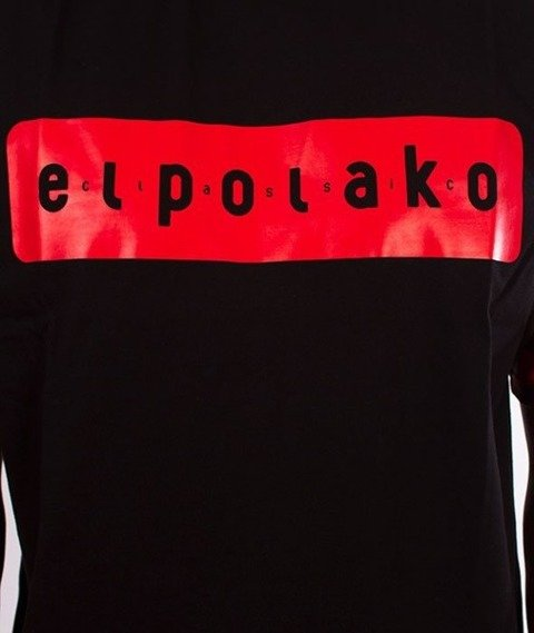 El Polako-Sleve Triangle Moro T-Shirt Red