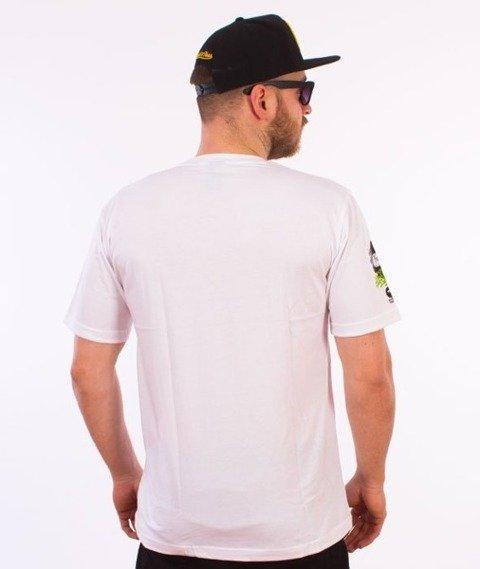 El Polako-Splash T-Shirt Biały