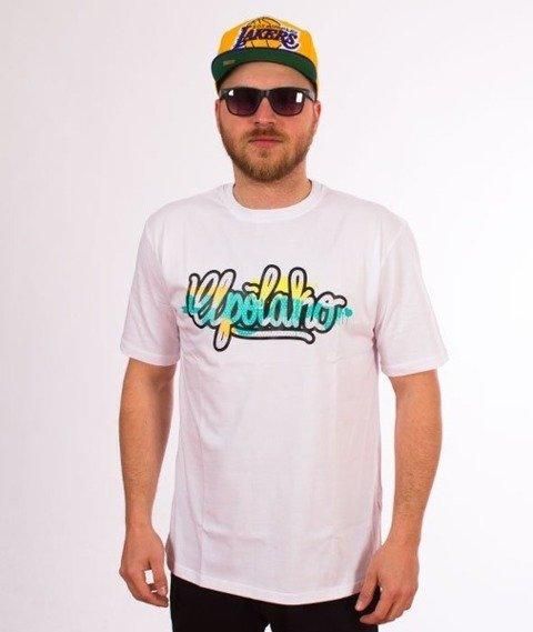 El Polako-Tag T-Shirt Biały