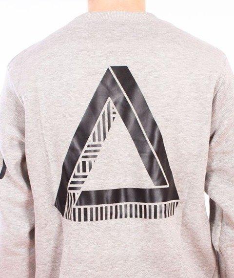 El Polako-Triangle Bluza Szara