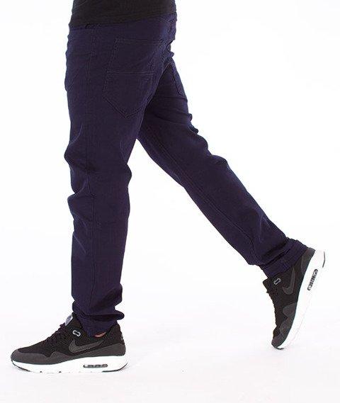 Elade-Chino Chronic Spodnie Materiałowe Granatowe