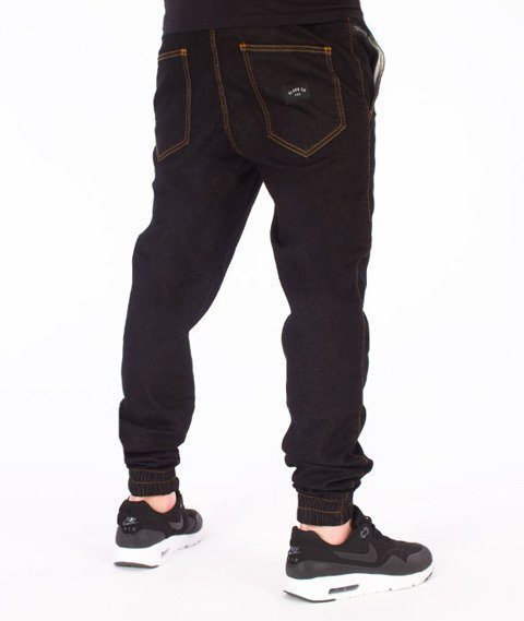 Elade-Denim Jogger Black