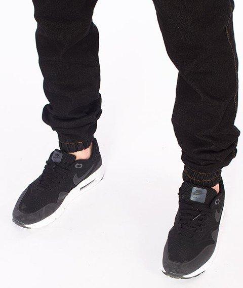 Elade-Denim Jogger Black