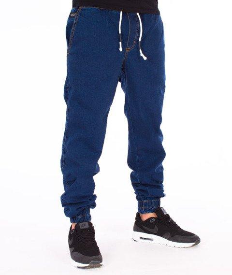 Elade-Denim Jogger Dark Blue