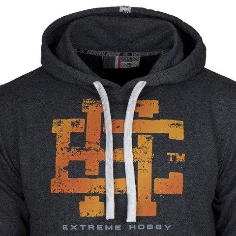 Extreme Hobby-Classic EH Hoodie Bluza Kaptur Grafitowa