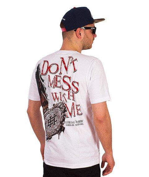 Extreme Hobby-Don't Mess T-shirt Biały