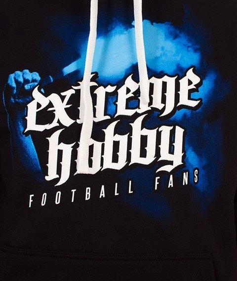 Extreme Hobby-Football Fans Hoodie Bluza Kaptur Czarna