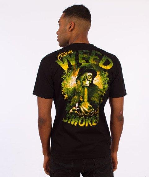 Extreme Hobby-Smoker T-shirt Czarny