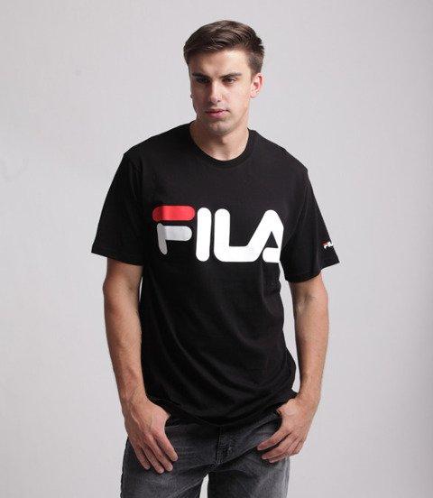 FILA-Classic Logo T-shirt Czarny