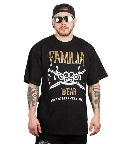 Familia Wear-Swords T-Shirt Czarny