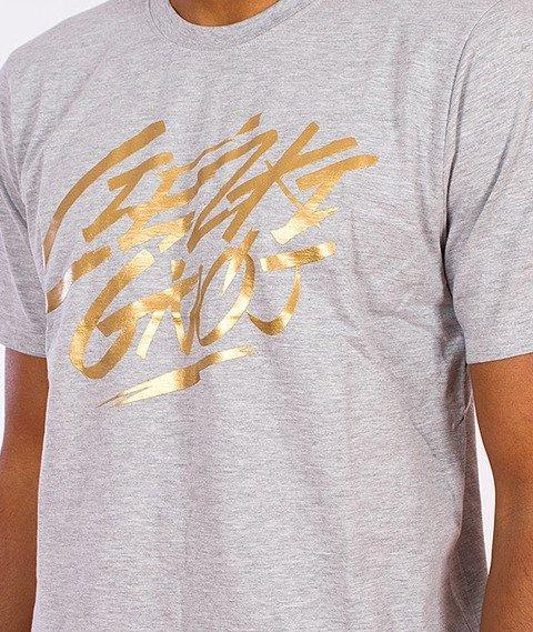 Gang Albanii-Heavy Shit T-Shirt Szary