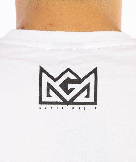 Ganja Mafia-AK-47 T-Shirt Biały