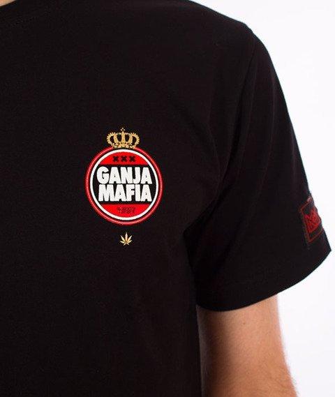 Ganja Mafia-IAmsterdam T-Shirt Black