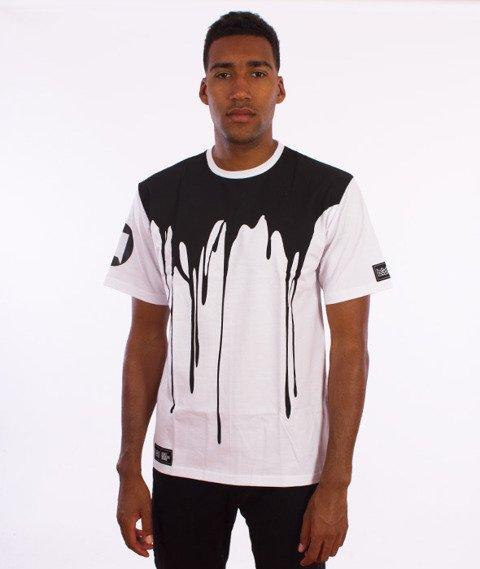 Ganja Mafia-OIX T-Shirt Biały/Czarny