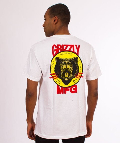 Grizzly-Firecracker T-Shirt White