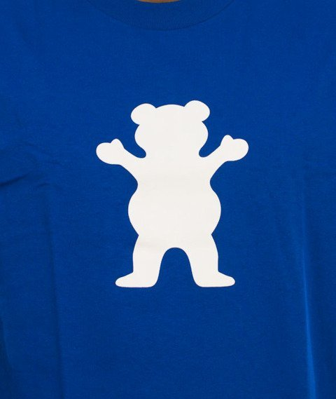 Grizzly-OG Bear Logo Basic T-Shirt Royal