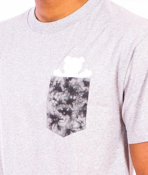 Grizzly-Shatter OG Bear Pocket T-Shirt Grey