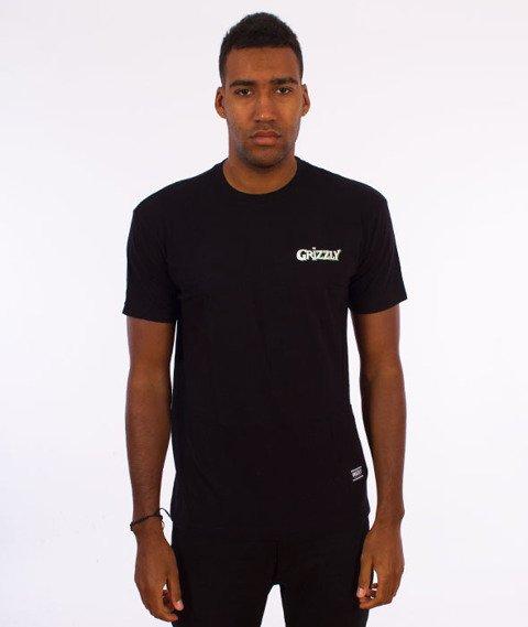 Grizzly-Venom Pen & Ink T-Shirt Black