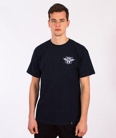 HUF-Flight T-Shirt Navy