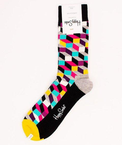 Happy Socks-Filled Optic [FIO01-9000]
