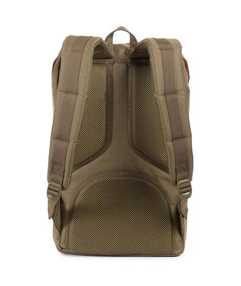 Herschel-Little America Backpack Army/Navy  [10014-00755]