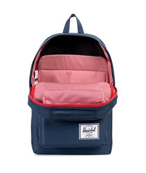 Herschel-Pop Quiz Backpack Navy/Red [10011-00970]
