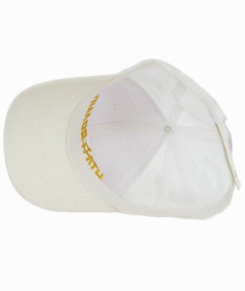 Hipotonia-HTA Brand Snapback Biały/Złoty