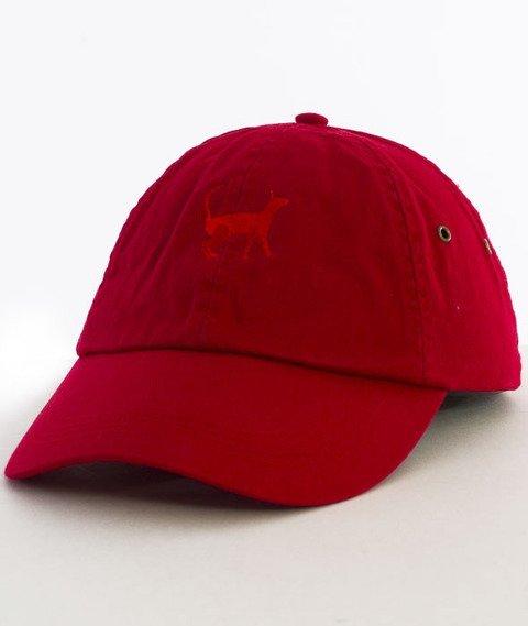 Hype-Tiger Dad Hat Czapka Z Daszkiem Red