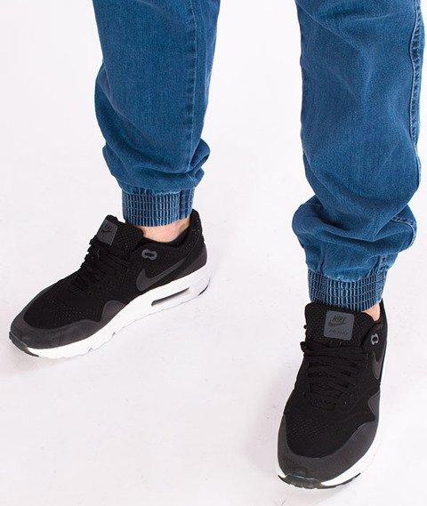 Illegal-Illegal Jogger Slim Guma Pocket Spodnie Light Blue