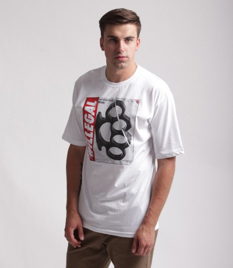 Illegal-Kastet NEW T-Shirt Biały