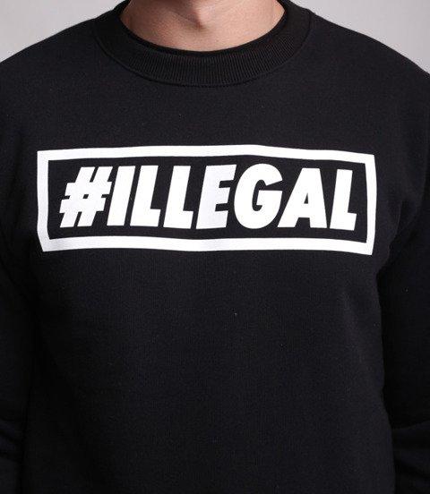 Illegal-Klasyk Bluza Czarna