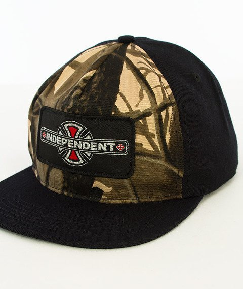 Independent-Reynolds Patch Snapback Black/Mossy