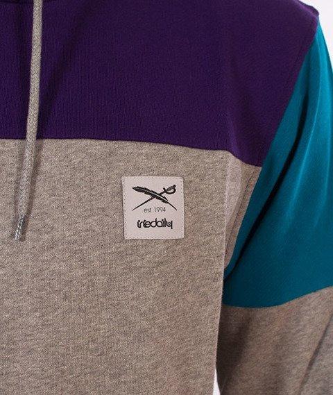 Iriedaily-Blow Up Hoody Bluza Kaptur Dark Purple