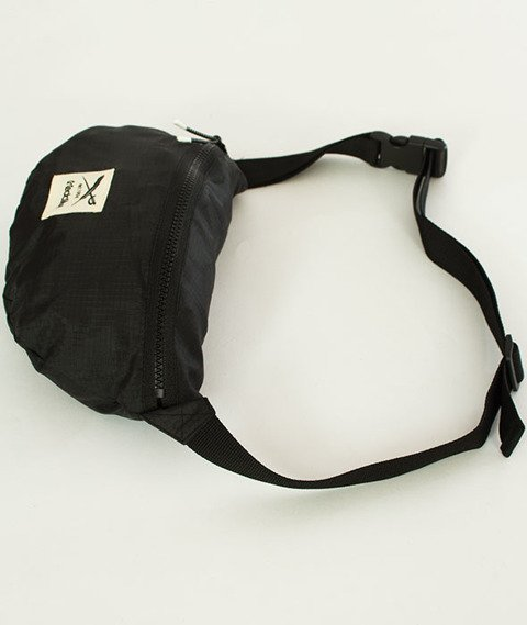 Iriedaily-Gridstop Hip Bag Black
