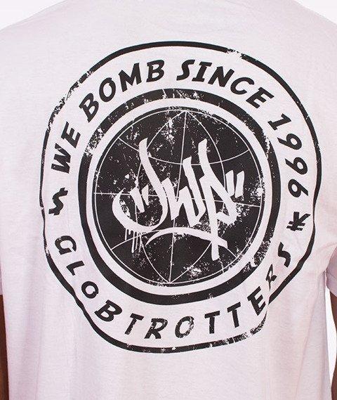 JWP-Globetrotter T-shirt Biały