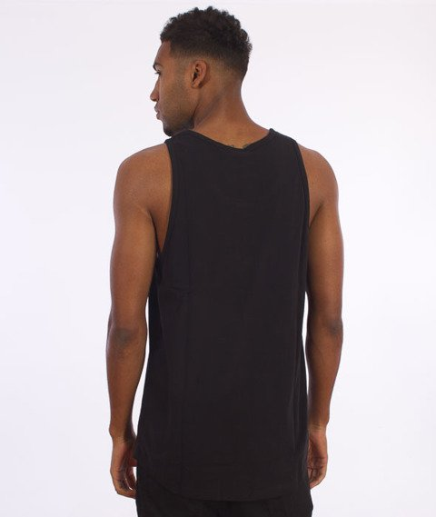 K1X-Barcelona Long Tank Top Black