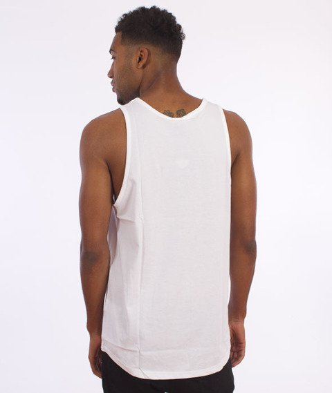 K1X-Glitch Logo Tank Top White