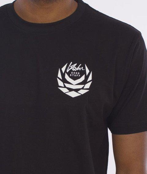 Koka-Front&Back T-Shirt Czarny