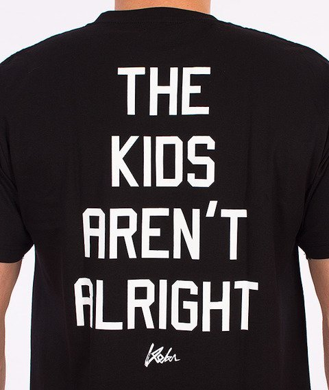 Koka-Kids T-Shirt Czarny
