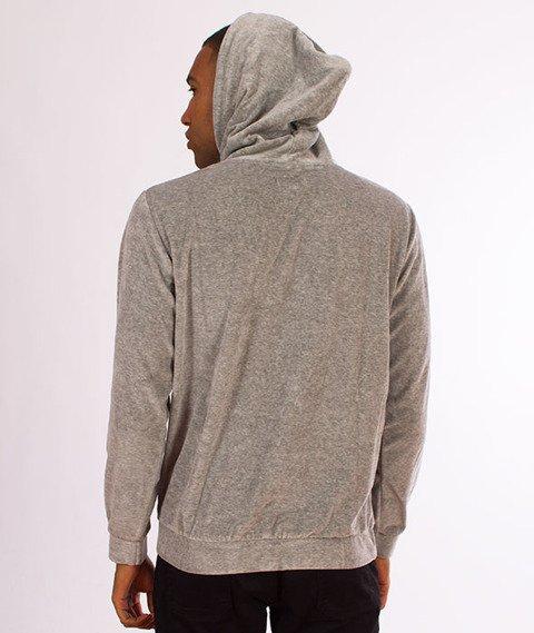 Koka-Velvet Bluza z Kapturem Grey