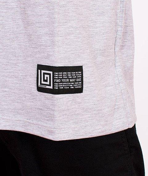 Labirynt-Classic T-shirt Szary/Czarny