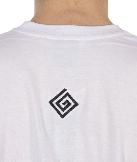 Labirynt-Entry T-shirt Biały