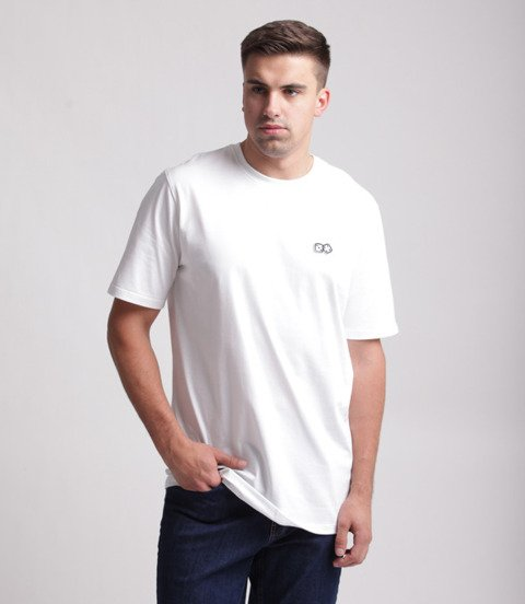 Lucky Dice-Basic Dice T-shirt Biały