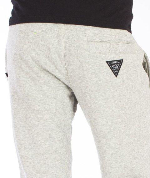 Lucky Dice-Classic Sweatpants Spodnie Dresowe Szare