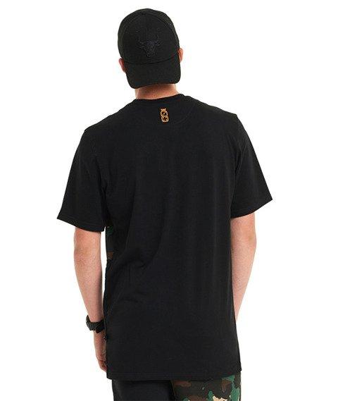 Lucky Dice-Cut Color T-shirt Czarny/Camo