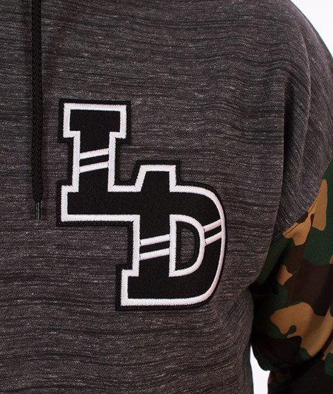 Lucky Dice-Emblems Hoodie Bluza Kaptur Szara/Camo
