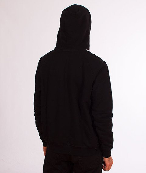 Lucky Dice-Hoodie Tape Logo Bluza Czarna