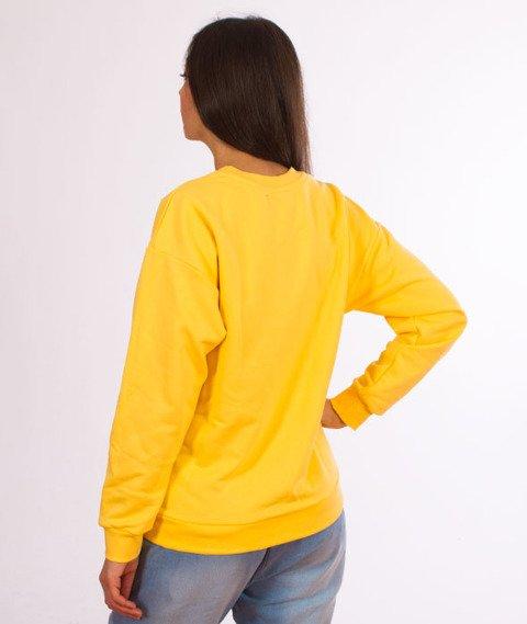 Lucky Dice-Logo Bluza Damska Yellow